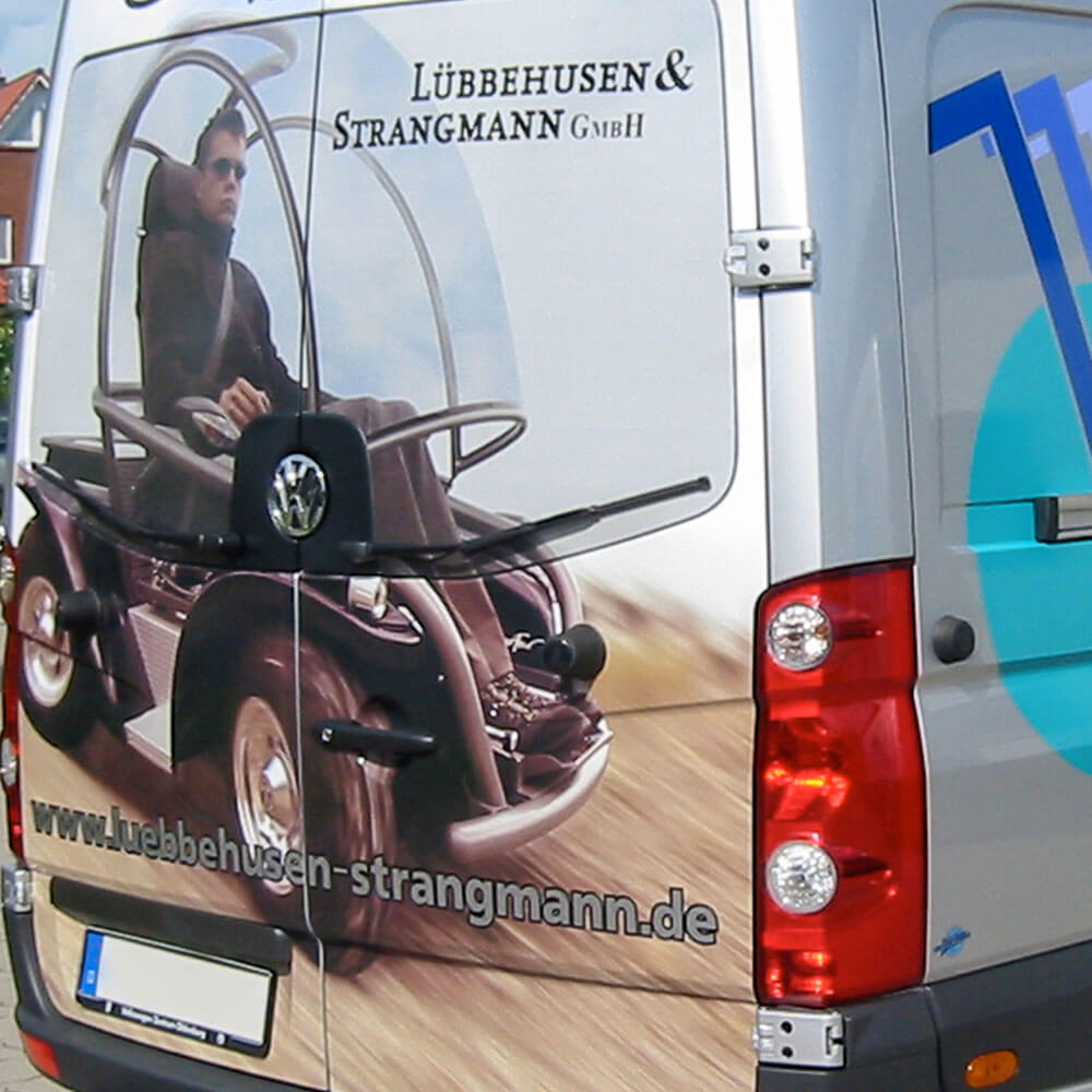 Fahrzeugbeschriftung - Brockschmidt Visuals